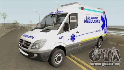Mercedes-Benz Sprinter (San Andreas Ambulance) pour GTA San Andreas
