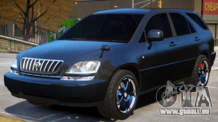 Toyota Harrier Upd pour GTA 4