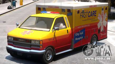 Ambulance City Hall Hospital FastCare pour GTA 4