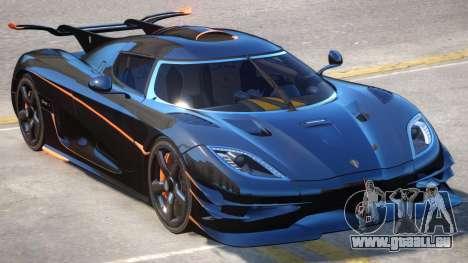 Koenigsegg One Improved pour GTA 4