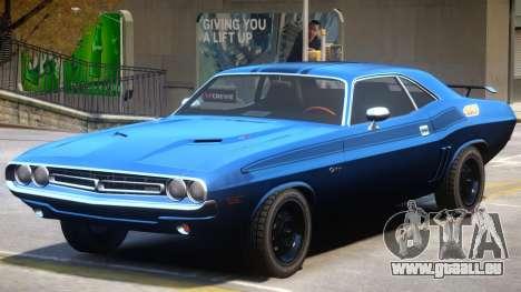1971 Challenger V1.4 pour GTA 4