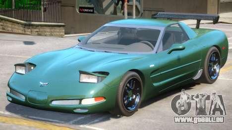 2002 Chevrolet Corvette pour GTA 4