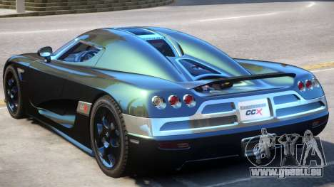 Koenigsegg CCX V2 pour GTA 4