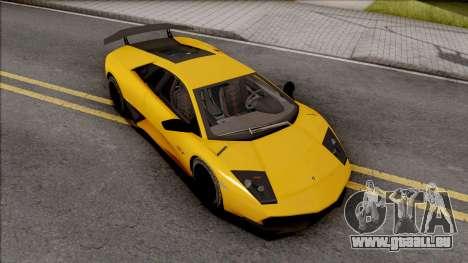 Lamborghini Murcielago LP670-4 SV pour GTA San Andreas