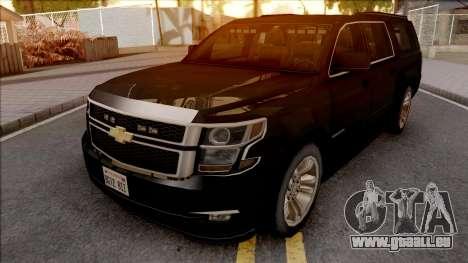 Chevrolet Suburban LTZ 2015 pour GTA San Andreas