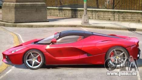 Ferrari LaFerrari Upd pour GTA 4