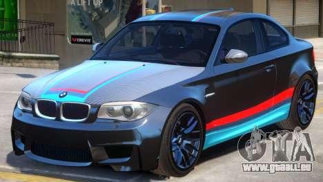 BMW M1 E82 PJ pour GTA 4