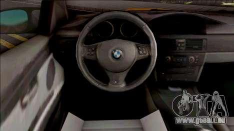 BMW M3 E92 GTS 2010 pour GTA San Andreas