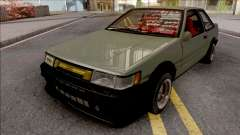 Toyota AE86 Levin Coupe Vision TopTeen