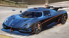 Koenigsegg One Improved pour GTA 4
