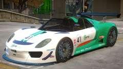 Porsche 918 Roadster PJ3 pour GTA 4