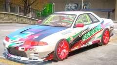 Nissan Skyline GT-R R32 V1 PJ pour GTA 4