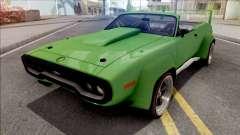 Plymouth GTX 1972 Cabrio Custom pour GTA San Andreas