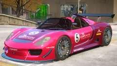 Porsche 918 Roadster PJ4 pour GTA 4