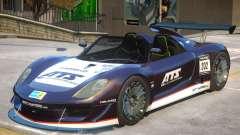 Porsche 918 Roadster PJ1 pour GTA 4