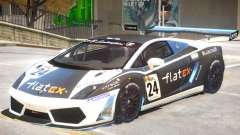 Lamborghini Gallardo GT3 PJ1 pour GTA 4