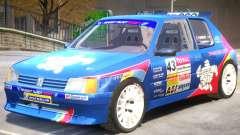 Peugeot 205 V1 PJ