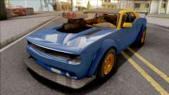 GTA V Bravado Gauntlet Hellfire IVF Blue pour GTA San Andreas