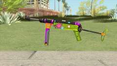 MP-40 (New Year) pour GTA San Andreas