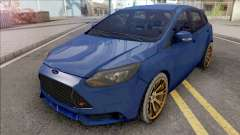Ford Focus ST 2019 Low Poly