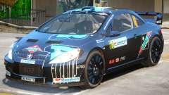 Peugeot 307 WRC PJ2 für GTA 4