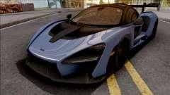 McLaren Senna 2018 Blue pour GTA San Andreas