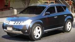 Nissan Murano V1 für GTA 4