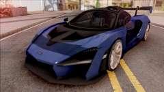 McLaren Senna 2019 Blue pour GTA San Andreas