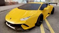 Lamborghini Huracan Performante Yellow pour GTA San Andreas