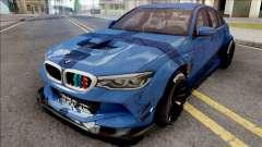 BMW M5 F90 2018 pour GTA San Andreas