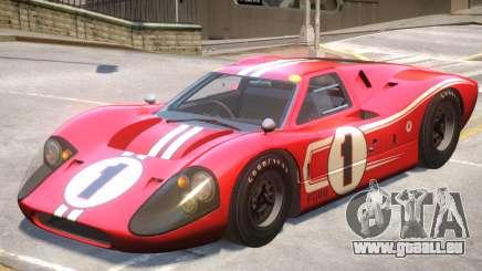 1967 Ford GT40 V1 PJ9 für GTA 4