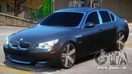 BMW M5 E60 R3 pour GTA 4