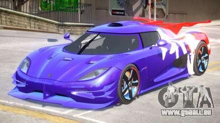 Koenigsegg One PJ2 pour GTA 4