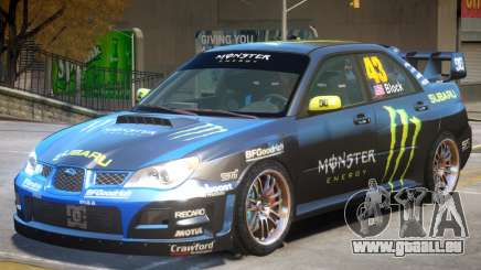Subaru Impreza WRX STI V1 pour GTA 4