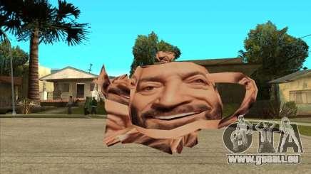 Mikhail Shufutinsky Funny Smiling Flying Teapot pour GTA San Andreas