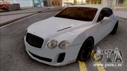 Bentley Continental Supersports 2010 Lowpoly pour GTA San Andreas