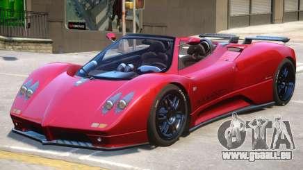 Pagani Zonda C12S V1.5 pour GTA 4