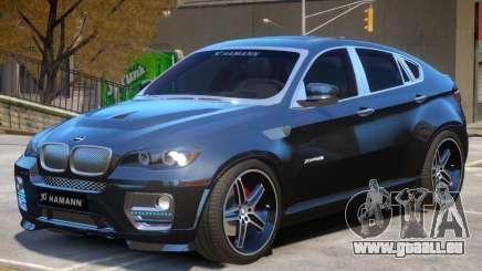BMW X6 EVO Hamann pour GTA 4