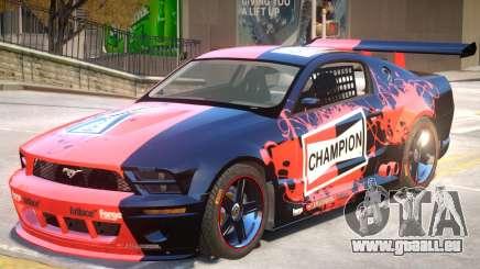 Ford Mustang GTR V1 J5 für GTA 4
