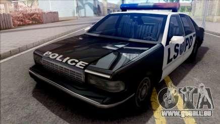 Declasse Impaler 1996 Police für GTA San Andreas