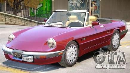 1986 Alfa Romeo V1 für GTA 4