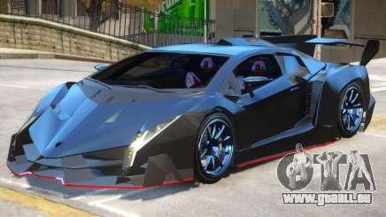 Lamborghini Veneno A8 pour GTA 4