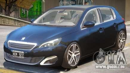Peugeot 308 V1.2 pour GTA 4