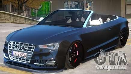 Audi S5 Cabrio pour GTA 4