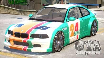 BMW M3 GTR PJ4 pour GTA 4