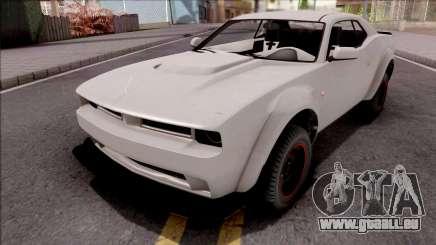 GTA V Bravado Gauntlet Hellfire SA Style pour GTA San Andreas