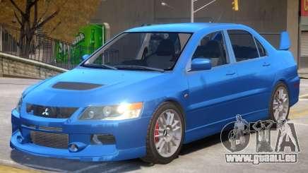 Mitsubishi Lancer Evolution IX V1.1 pour GTA 4