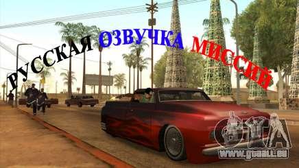 Russische Stimme v4 für GTA San Andreas