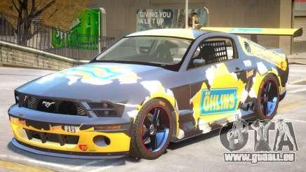 Ford Mustang GTR V1 J6 für GTA 4