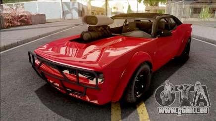 GTA V Bravado Gauntlet Hellfire Red pour GTA San Andreas